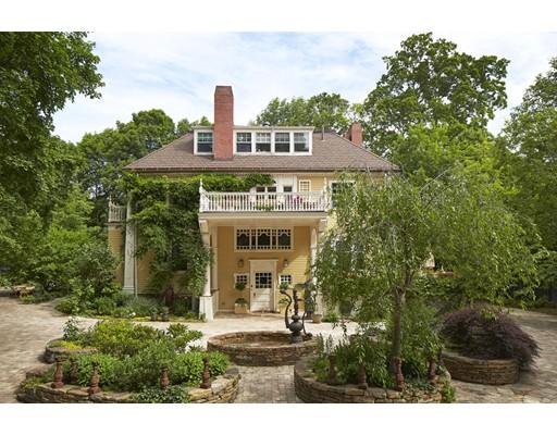 Частный односемейный дом для того Продажа на 168 Brattle Street 168 Brattle Street Cambridge, Массачусетс 02138 Соединенные Штаты
