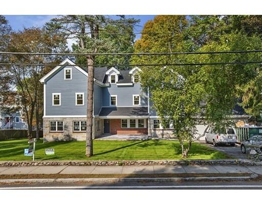 Частный односемейный дом для того Продажа на 170 Forest Street 170 Forest Street Winchester, Массачусетс 01890 Соединенные Штаты