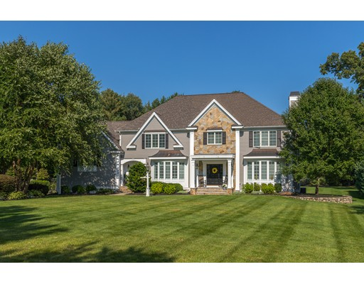 Частный односемейный дом для того Продажа на 10 Barron Court 10 Barron Court Andover, Массачусетс 01810 Соединенные Штаты