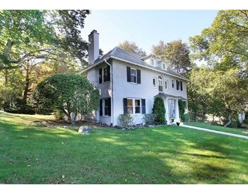 Maison unifamiliale pour l Vente à 90 Hull Street 90 Hull Street Newton, Massachusetts 02460 États-Unis