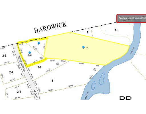 Land for Sale at greenwich Road Ware, 01082 United States