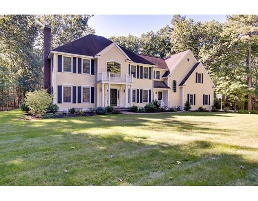 Частный односемейный дом для того Продажа на 50 Swanson Lane 50 Swanson Lane Carlisle, Массачусетс 01741 Соединенные Штаты