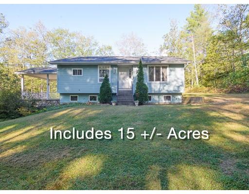 Single Family Home for Sale at 168 Berry Corner Road 168 Berry Corner Road Charlton, Massachusetts 01507 United States