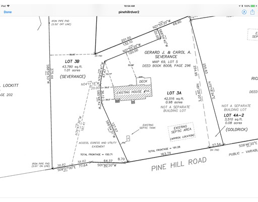 Land for Sale at 14 Pine Hill Road 14 Pine Hill Road Southborough, Massachusetts 01772 United States