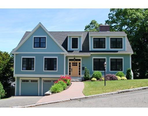 واحد منزل الأسرة للـ Sale في 59 Russet Lane 59 Russet Lane Melrose, Massachusetts 02176 United States
