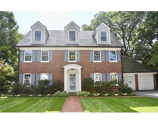 Casa Unifamiliar por un Venta en 49 Fiske Road 49 Fiske Road Wellesley, Massachusetts 02481 Estados Unidos