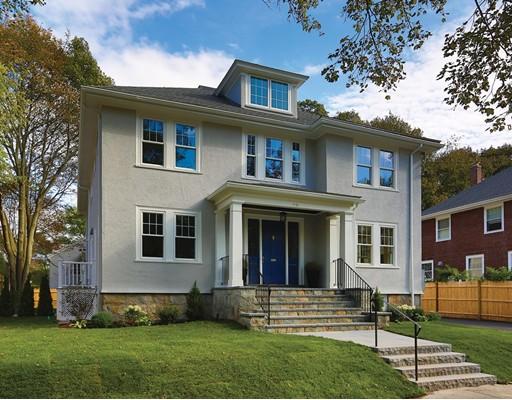 Appartement en copropriété pour l Vente à 98 Manet Rd #2 98 Manet Rd #2 Newton, Massachusetts 02467 États-Unis