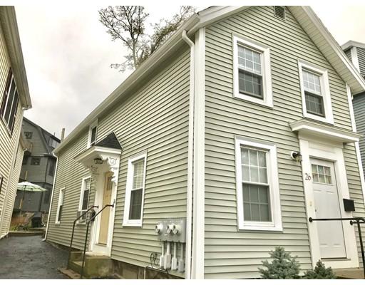 独户住宅 为 出租 在 26 Railroad Avenue 贝弗利, 马萨诸塞州 01915 美国