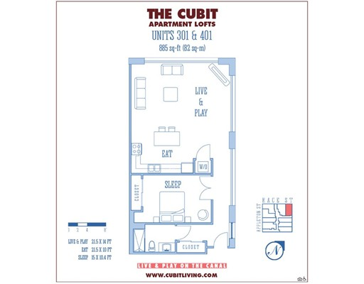 Apartamento por un Alquiler en 164 Race St. #401 164 Race St. #401 Holyoke, Massachusetts 01040 Estados Unidos