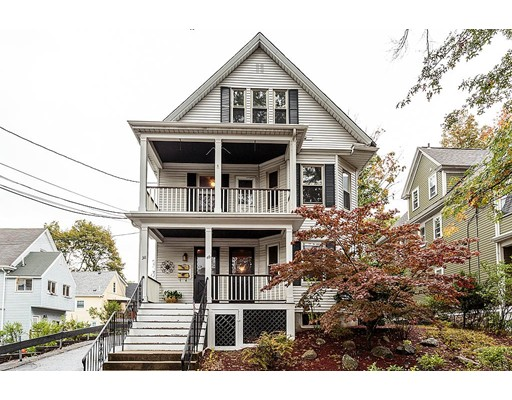 Maison avec plusieurs logements pour l Vente à 38 Eddy Street 38 Eddy Street Newton, Massachusetts 02465 États-Unis