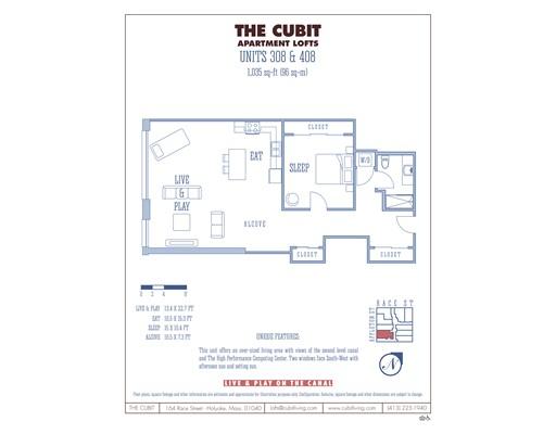 Apartment for Rent at 164 Race St. #408 164 Race St. #408 Holyoke, Massachusetts 01040 United States