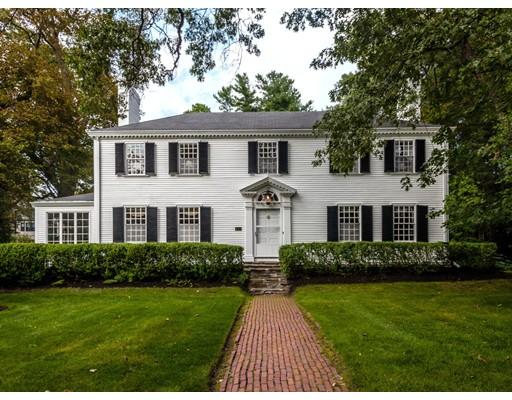 Maison unifamiliale pour l Vente à 237 Mill Street 237 Mill Street Newton, Massachusetts 02460 États-Unis
