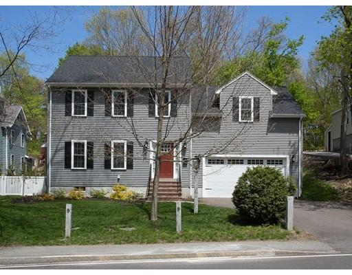 独户住宅 为 销售 在 93 Sherman Street 93 Sherman Street 坎墩, 马萨诸塞州 02021 美国