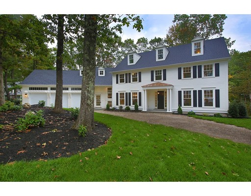 Picture 2 of 67 Yarmouth Rd  Wellesley Ma 6 Bedroom Single Family