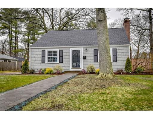 Single Family Home for Sale at 17 Euclid Avenue 17 Euclid Avenue Natick, Massachusetts 01760 United States