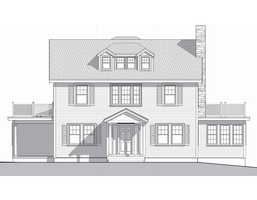 独户住宅 为 销售 在 Roslyn Road Roslyn Road 牛顿, 马萨诸塞州 02468 美国