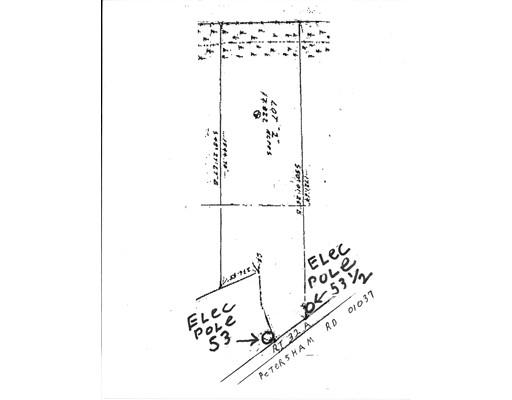 أراضي للـ Sale في Petersham Petersham Hardwick, Massachusetts 01037 United States
