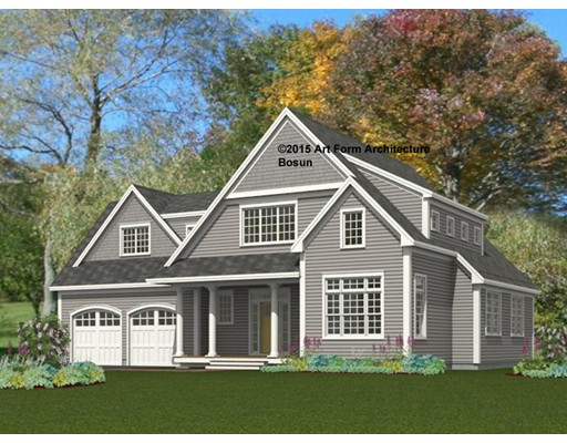 New Construction. JUST COMPLETED!!!  Thoughtfully designed, lightfilled open floor plan, 4 bedrooms, 3.5 custom baths, private master suite and bath, walk in closets. Generous size bedroom with one being an en suite; perfect for your guests and in-laws.  Full basement awaits you personal finishes. This home is located on a cul-de-sac in a great neighborhood with easy access to Rts. 93 and 128. Enjoy your fireplaced family room and appreciate the quality aspects of this home!!!