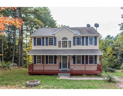 Частный односемейный дом для того Продажа на 61 Young Road 61 Young Road Ashburnham, Массачусетс 01430 Соединенные Штаты