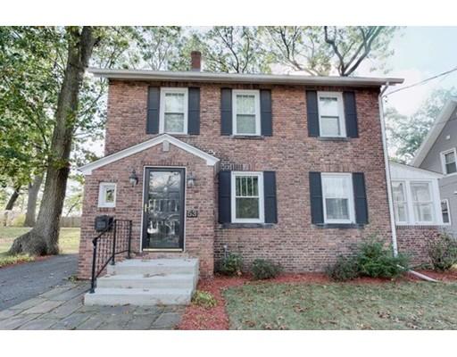独户住宅 为 销售 在 53 William Street 53 William Street Chicopee, 马萨诸塞州 01020 美国