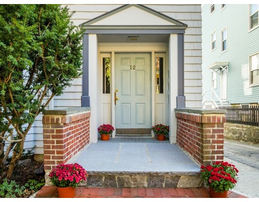 OPEN HOUSE SAT. and SUN. 10/21 and 10/22 from 12:30-2:00. Live in this highly (but rarely available) sought-after nook of J.P. Enjoy easy access and walkable city living while still being nestled away on a small quaint side street with DEEDED OFF-STREET PARKING! Located around the corner from City Feed store. Perfectly situated between Centre Street Shopping, restaurants, WHOLE FOODS MARKET and (ORANGE LINE) STONEYBROOK T STATION (4 minute walk), THE BREWERY. Convenient IN-UNIT LAUNDRY! Deeded storage in basement. Very high ceilings. Private back deck that's right outside your massive eat-in kitchen. Great for entertaining. Easy and convenient first floor condo and pet-friendly building. 100% owner-occupied.