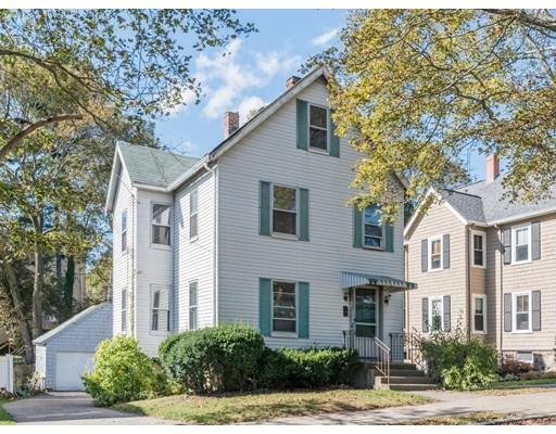 Maison unifamiliale pour l Vente à 23 Wetherell Street 23 Wetherell Street Newton, Massachusetts 02464 États-Unis