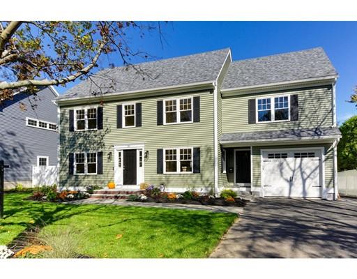 Maison unifamiliale pour l Vente à 24 Nicod Street 24 Nicod Street Arlington, Massachusetts 02476 États-Unis