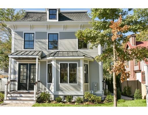 Appartement en copropriété pour l Vente à 41 Chesley #1 41 Chesley #1 Newton, Massachusetts 02459 États-Unis
