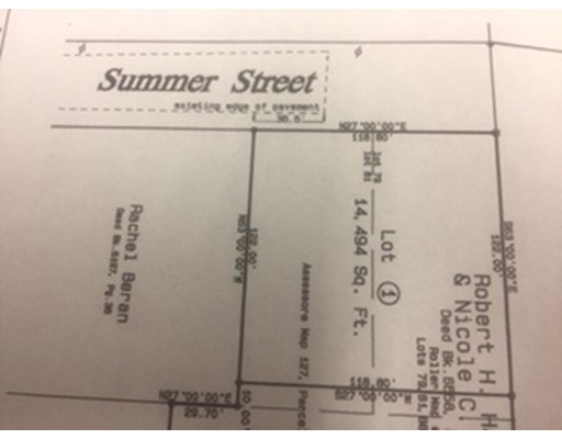 Terreno por un Venta en Summer Street Summer Street Greenfield, Massachusetts 01301 Estados Unidos