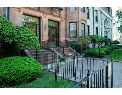 Condominium for Sale at 481 Beacon Street 481 Beacon Street Boston, Massachusetts 02115 United States