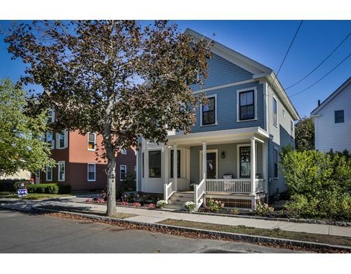 Частный односемейный дом для того Продажа на 20 Jackson Street 20 Jackson Street Newburyport, Массачусетс 01950 Соединенные Штаты