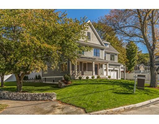 Частный односемейный дом для того Продажа на 5 Churchill Road 5 Churchill Road Winchester, Массачусетс 01890 Соединенные Штаты