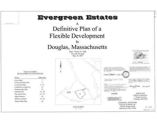 Terrain pour l Vente à Address Not Available Douglas, Massachusetts 01516 États-Unis