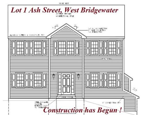 Частный односемейный дом для того Продажа на 1 Ash Street 1 Ash Street West Bridgewater, Массачусетс 02379 Соединенные Штаты