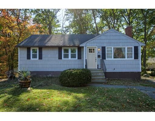 Maison unifamiliale pour l Vente à 6 Bradford Road 6 Bradford Road Peabody, Massachusetts 01960 États-Unis