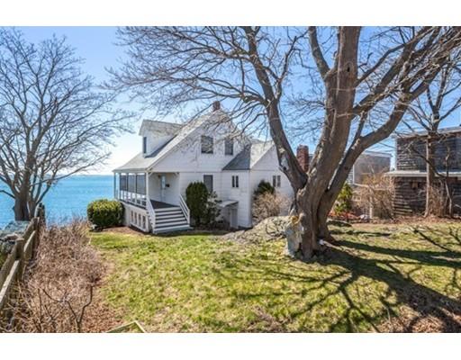 واحد منزل الأسرة للـ Sale في 75 Bass Point Road 75 Bass Point Road Nahant, Massachusetts 01908 United States