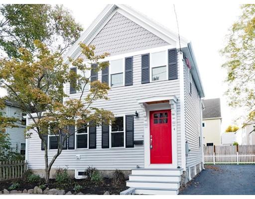Casa para uma família para Venda às 4 Maple Street 4 Maple Street Natick, Massachusetts 01760 Estados Unidos