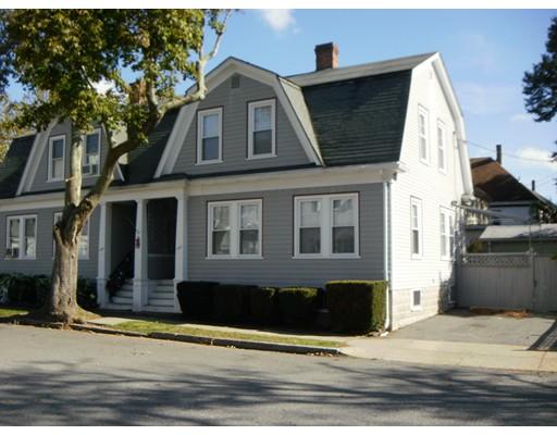 Таунхаус для того Аренда на 182 Brownell St #1 182 Brownell St #1 New Bedford, Массачусетс 02740 Соединенные Штаты