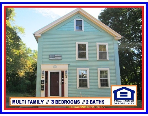 Multi-Family Home for Sale at 95 CHESTNUT STREET Spencer, 01562 United States