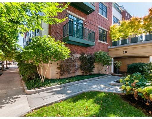 Condominium for Sale at 10 Vernon Street 10 Vernon Street Brookline, Massachusetts 02446 United States