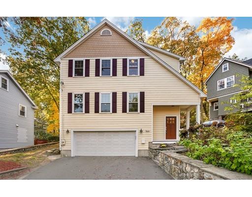 Частный односемейный дом для того Продажа на 380 Gray Street 380 Gray Street Arlington, Массачусетс 02476 Соединенные Штаты