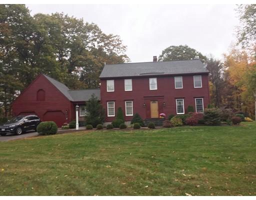 Частный односемейный дом для того Продажа на 350 Main Street 350 Main Street Rutland, Массачусетс 01543 Соединенные Штаты