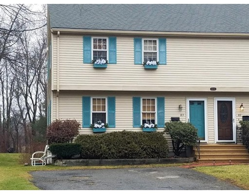 共管式独立产权公寓 为 销售 在 83 Whitney Street 83 Whitney Street 诺斯伯勒, 马萨诸塞州 01532 美国