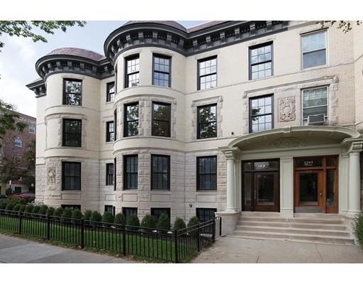 Condominium for Sale at 1248 Beacon Street 1248 Beacon Street Brookline, Massachusetts 02446 United States