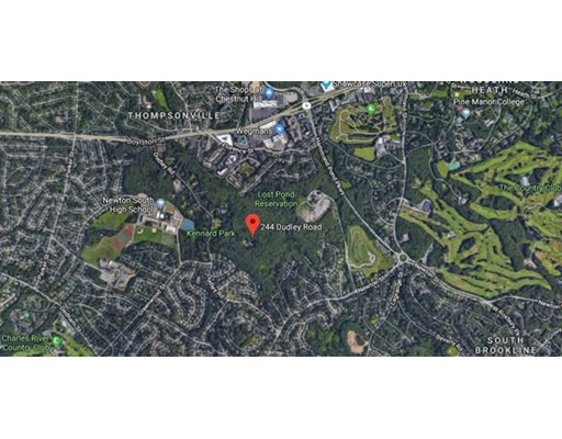 Land for Sale at 244 Dudley Road 244 Dudley Road Newton, Massachusetts 02459 United States