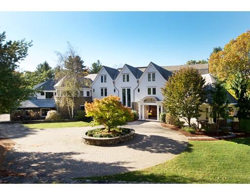 Maison unifamiliale pour l Vente à 100 Wilsondale Street 100 Wilsondale Street Dover, Massachusetts 02030 États-Unis