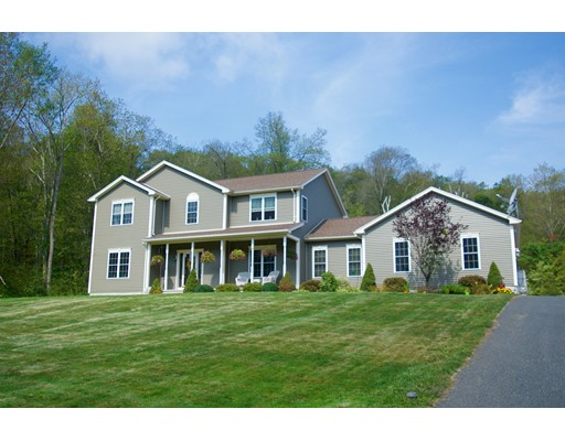 Single Family Home for Sale at 676 Old Warren Road 676 Old Warren Road Palmer, Massachusetts 01069 United States