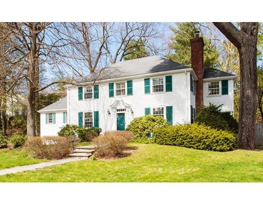 واحد منزل الأسرة للـ Rent في 25 Old Colony Road 25 Old Colony Road Wellesley, Massachusetts 02481 United States