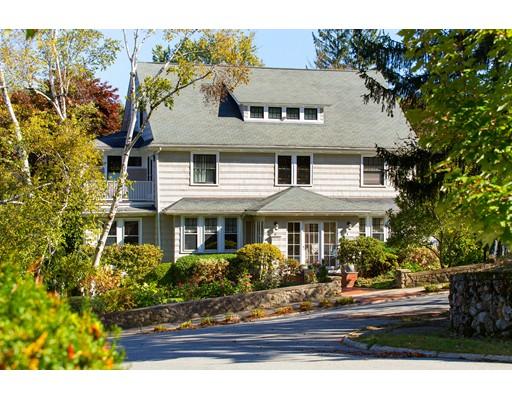 Частный односемейный дом для того Продажа на 1 Edgehill Road 1 Edgehill Road Winchester, Массачусетс 01890 Соединенные Штаты