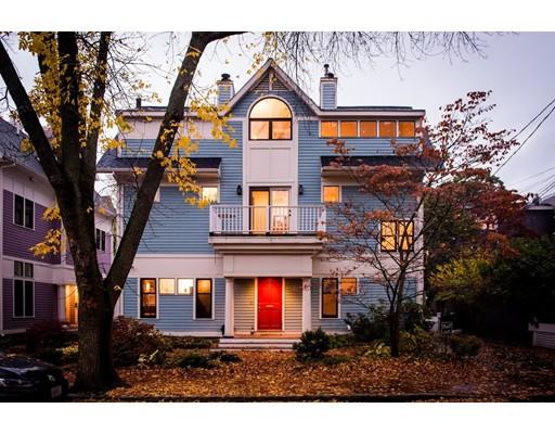 Condominium for Sale at 7 Frost Street 7 Frost Street Cambridge, Massachusetts 02140 United States